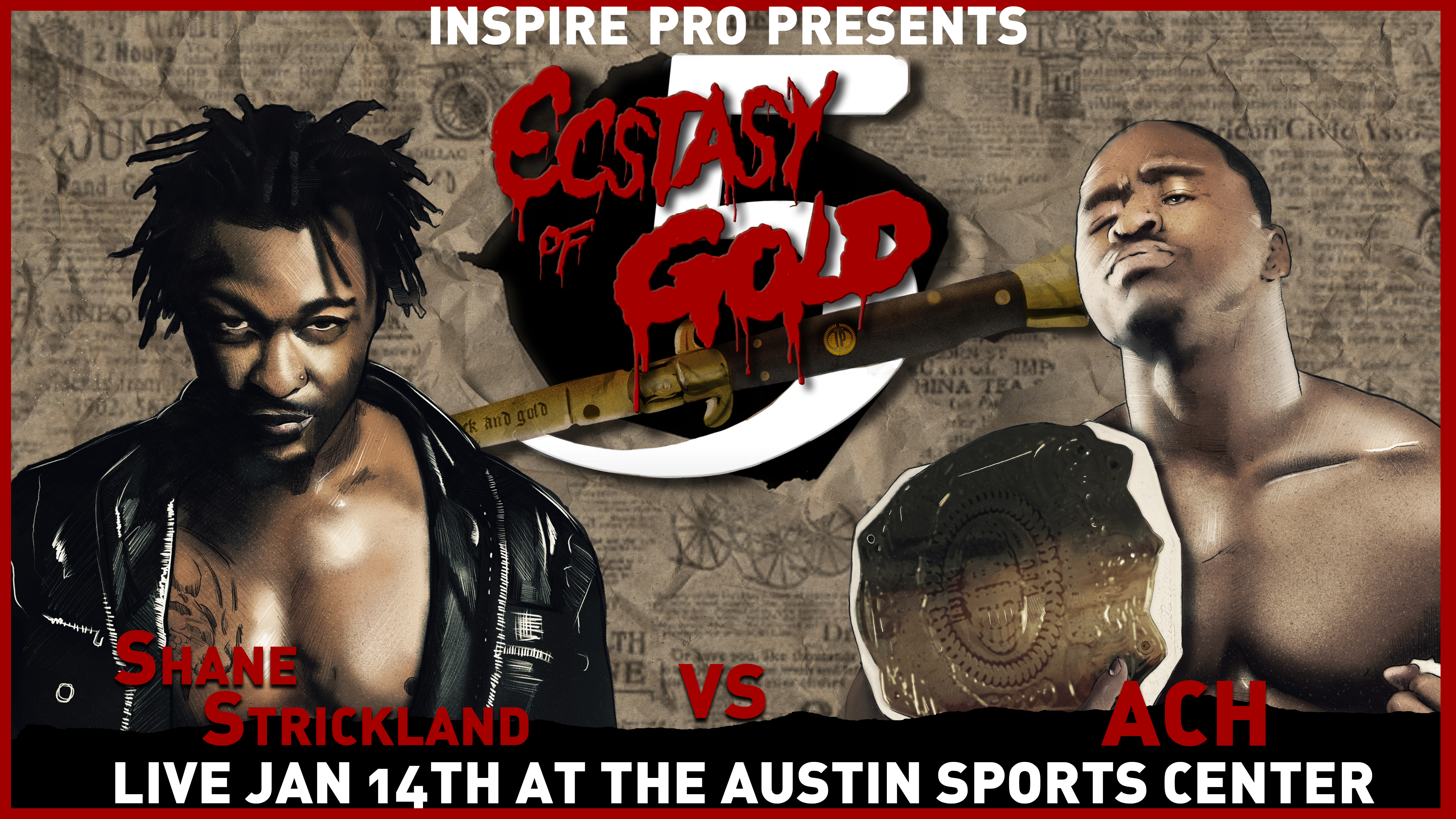 Results: Ecstasy Of Gold 5 - 1.14.18