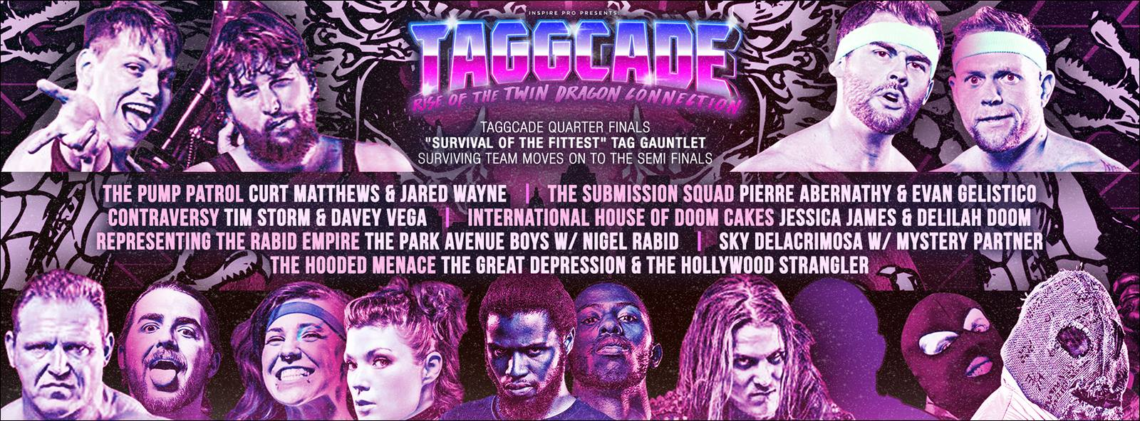 Taggcade: Rise Of The Twin Dragon Connection — 11.1.15 in ...